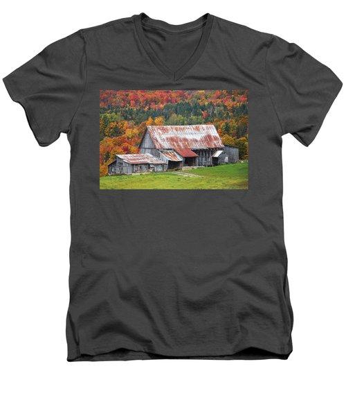Vermont Men's V-Neck T-Shirt