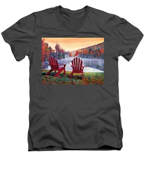 Vermont Romance Men's V-Neck T-Shirt