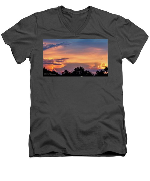 Vero Sunrise Men's V-Neck T-Shirt