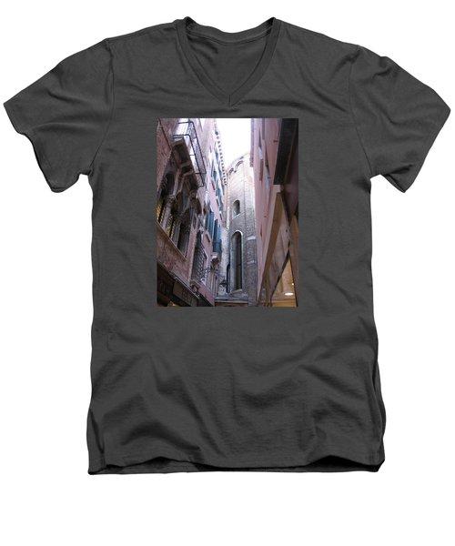 Vertigo In Venice Men's V-Neck T-Shirt