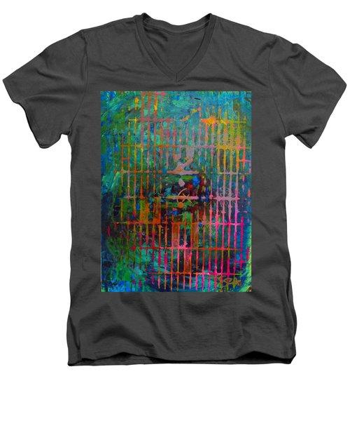 Vibes Men's V-Neck T-Shirt