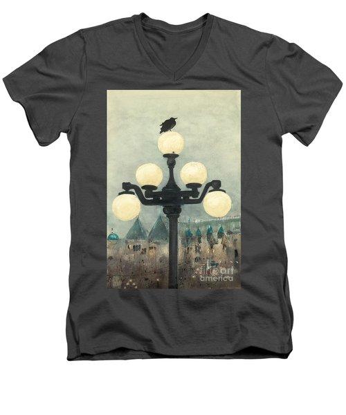 Victoria Evening Men's V-Neck T-Shirt