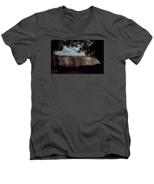 Victoria Falls, Zimbabwe Men's V-Neck T-Shirt