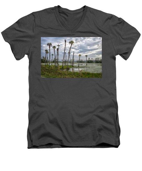 Viera Men's V-Neck T-Shirt