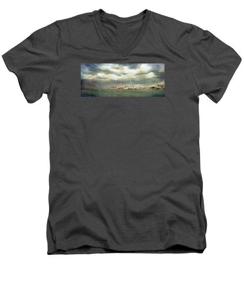 Vieste  - Gargano Men's V-Neck T-Shirt