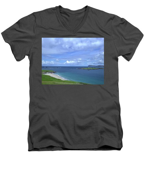 View Blasket Island #g0 Men's V-Neck T-Shirt