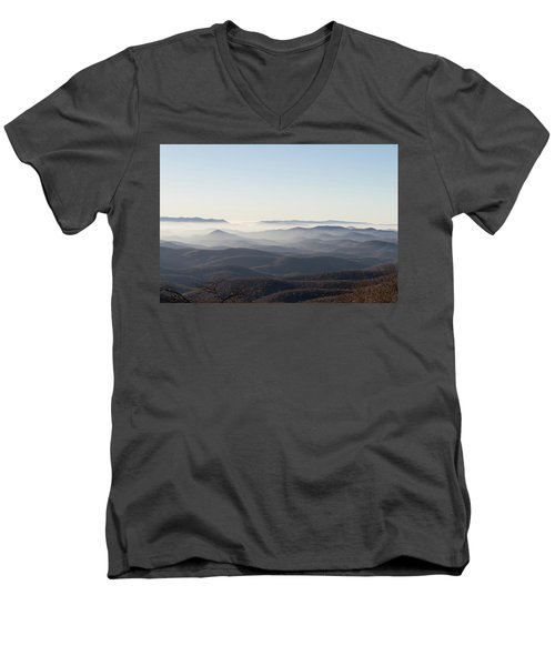 View From Blood Mountain Men's V-Neck T-Shirt
