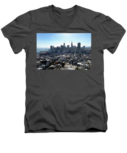 View From Coit Tower Men's V-Neck T-Shirt