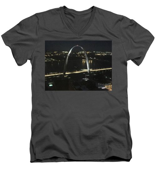 View From Higher Up Men's V-Neck T-Shirt