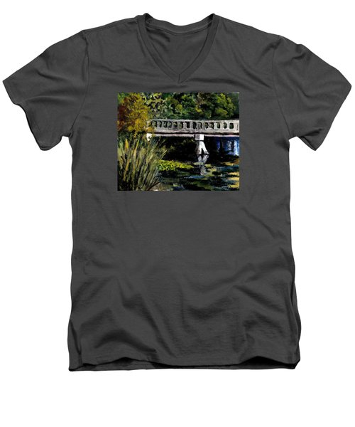 View From Phillips' Park Men's V-Neck T-Shirt