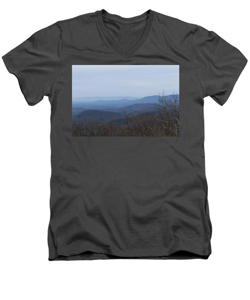 View From Springer Mountain Men's V-Neck T-Shirt
