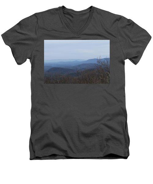 View From Springer Mountain Men's V-Neck T-Shirt
