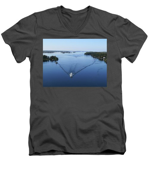View From The Bridge Men's V-Neck T-Shirt