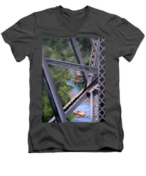 View From The Bridge--sedona, Az Men's V-Neck T-Shirt by Mary McCullah