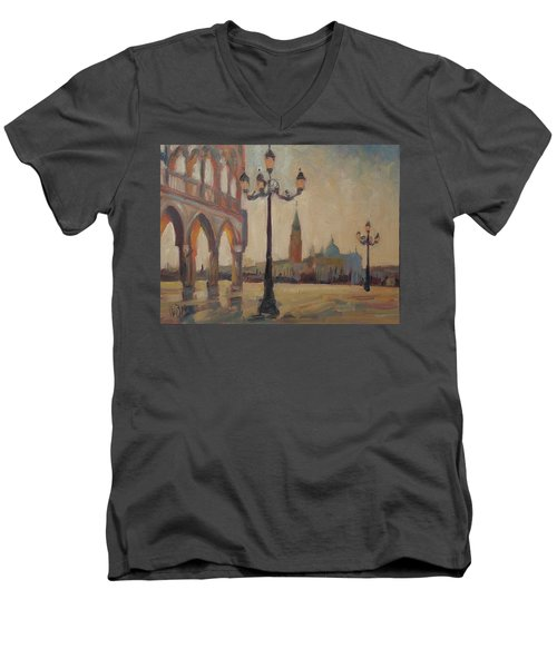 View From The Doge Palace Men's V-Neck T-Shirt