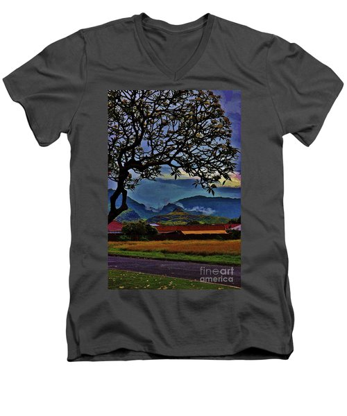 View From The School Yard Men's V-Neck T-Shirt