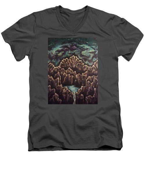 View From The Top Men's V-Neck T-Shirt