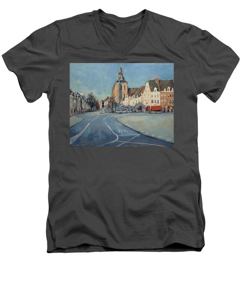 View To Boschstraat Maastricht Men's V-Neck T-Shirt