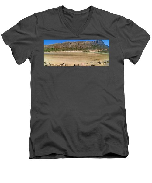 View To Gramvousa Men's V-Neck T-Shirt