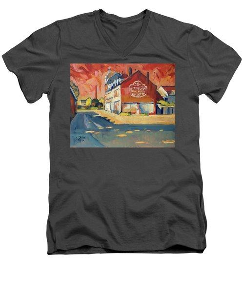 View To Radium Maastricht Men's V-Neck T-Shirt
