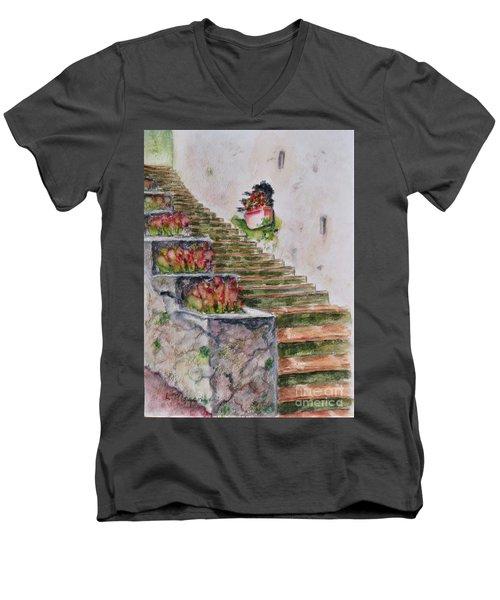 Villa Rufolo Men's V-Neck T-Shirt