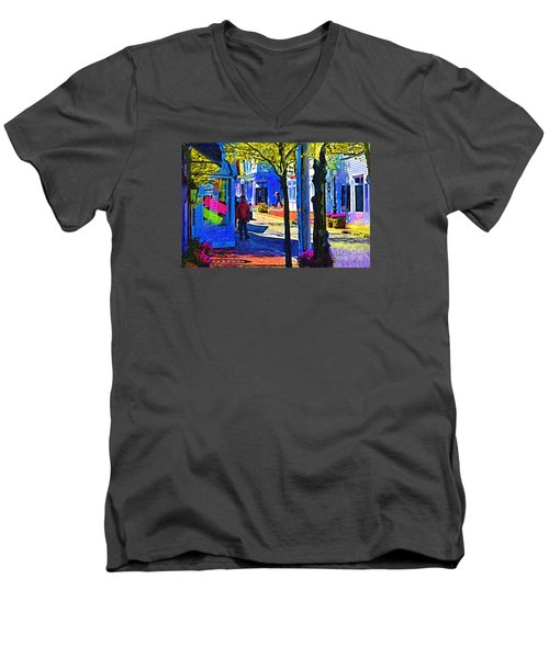 Village Shopping Men's V-Neck T-Shirt