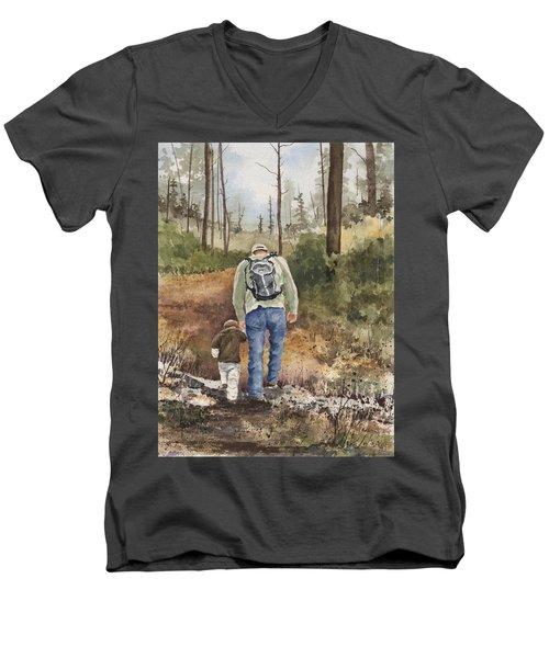 Vince And Sam Men's V-Neck T-Shirt