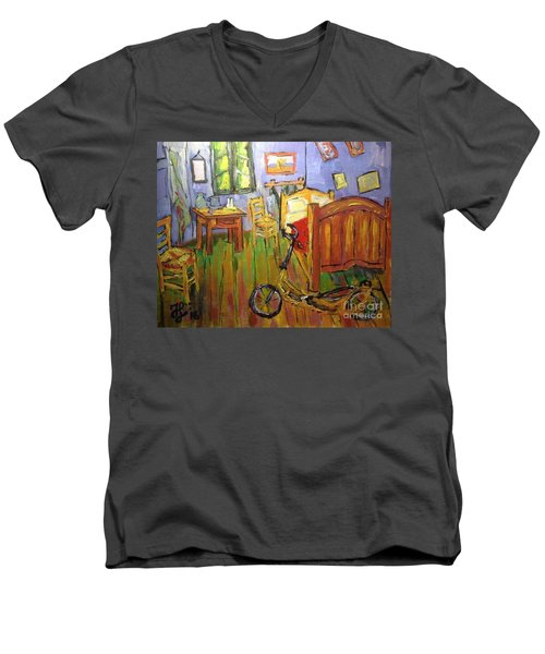 Vincent Van Go's Bedroom Men's V-Neck T-Shirt