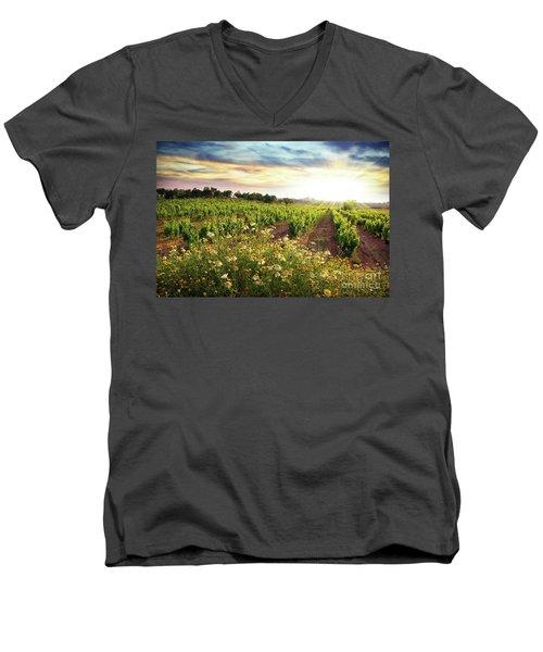 Vineyard Men's V-Neck T-Shirt