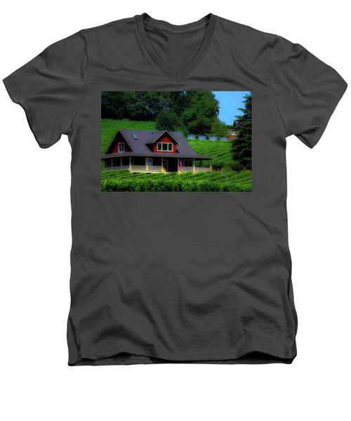 Vineyards Men's V-Neck T-Shirt