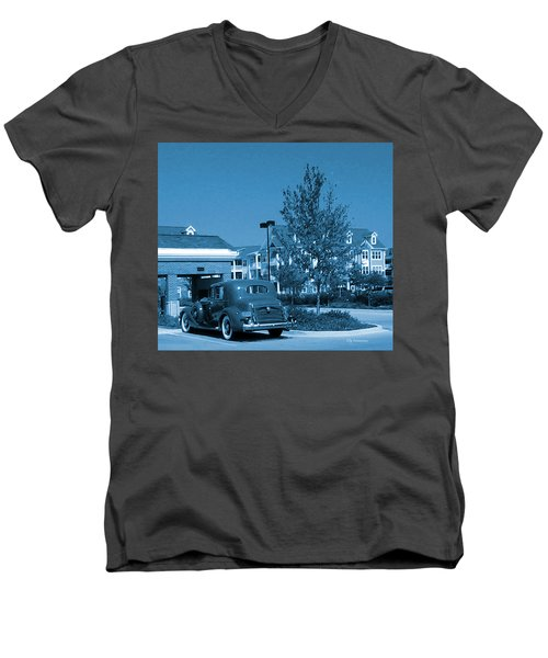 Vintage Automobile Men's V-Neck T-Shirt