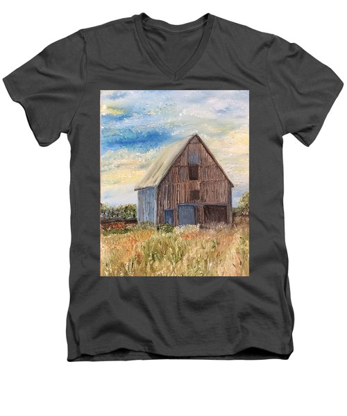 Vintage Barn Men's V-Neck T-Shirt