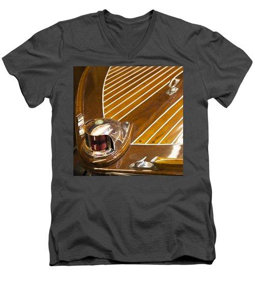 Vintage Century Boat Bow Light Men's V-Neck T-Shirt