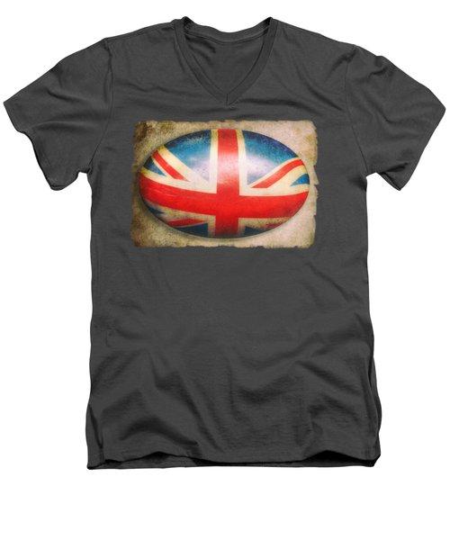 Vintage Flag Men's V-Neck T-Shirt
