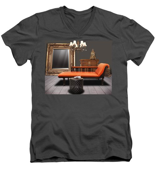 Vintage Furnitures Men's V-Neck T-Shirt