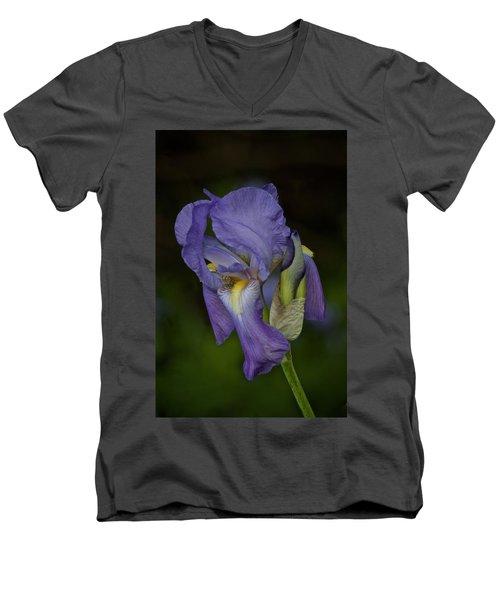 Vintage Iris May 2017 Men's V-Neck T-Shirt