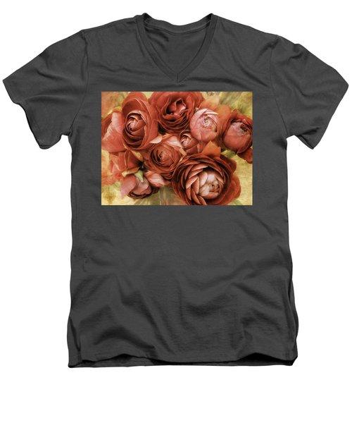 Vintage Spring Men's V-Neck T-Shirt