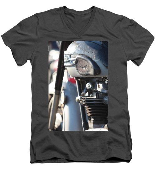 Vintage Triumph Men's V-Neck T-Shirt