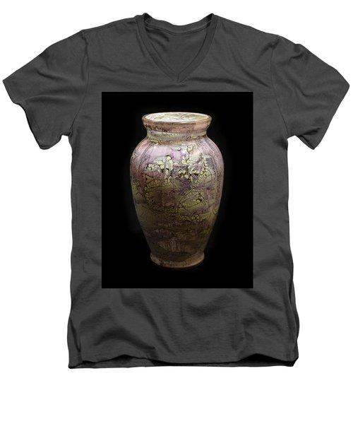 Violet Vase Men's V-Neck T-Shirt