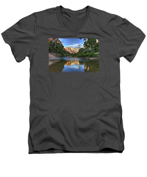 Virgin River Men's V-Neck T-Shirt
