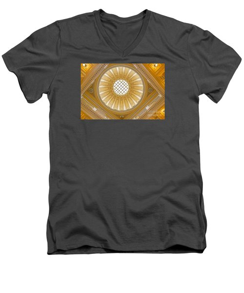 Virginia Capitol - Dome Men's V-Neck T-Shirt