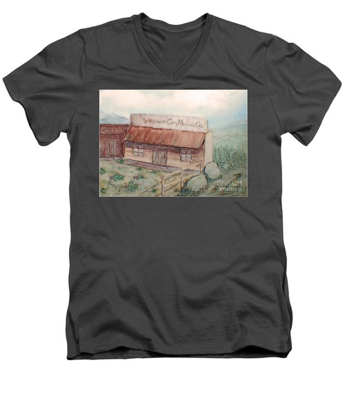Virginia City Mining Co. Men's V-Neck T-Shirt