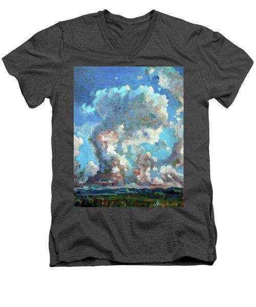 Virginia Sky Men's V-Neck T-Shirt