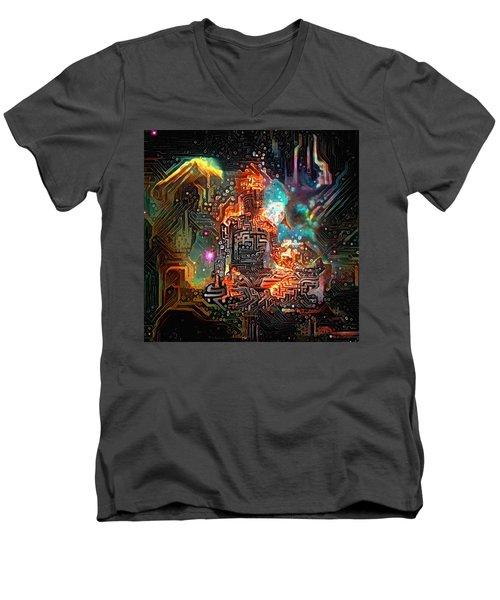 Virtual Zen Men's V-Neck T-Shirt