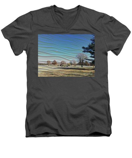 Visible Chill Men's V-Neck T-Shirt