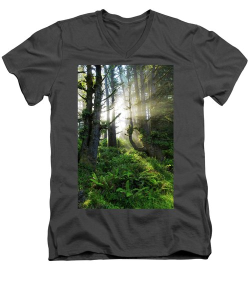 Men's V-Neck T-Shirt featuring the photograph Vision by Chad Dutson