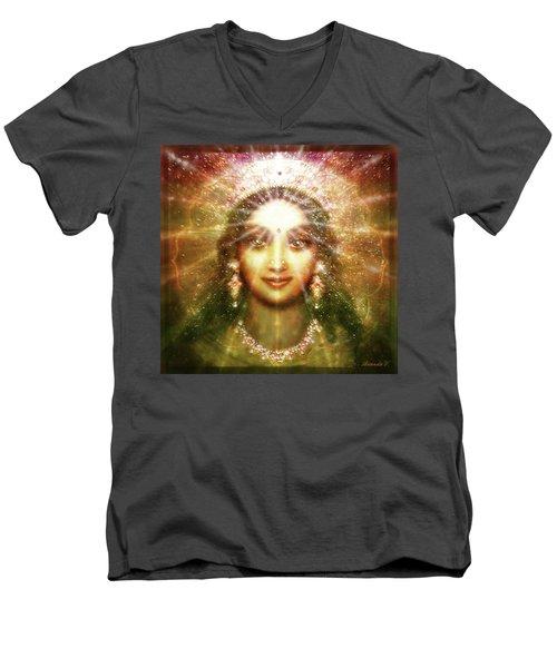 Vision Of The Goddess - Light Men's V-Neck T-Shirt