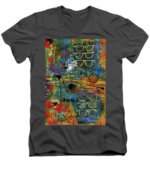 Visions Of A Good Life Men's V-Neck T-Shirt