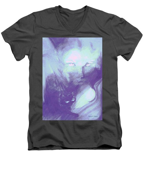 Visions Of The Night Men's V-Neck T-Shirt