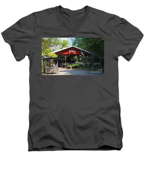 Vito's Farm Stand Men's V-Neck T-Shirt
